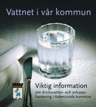 Askersund VA-info 2012.pdf - Askersunds kommun