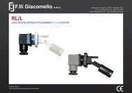Scheda Tecnica - F.lli Giacomello