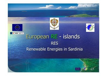 Sardinia - European Renewable Energy Council