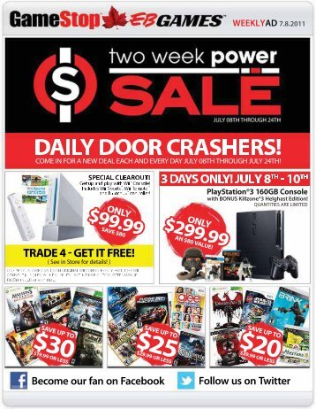SALE - EB Games