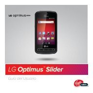 LG Optimus™ Slider - Virgin Mobile