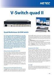 V-Switch quad II - HETEC Datensysteme GmbH, Germering