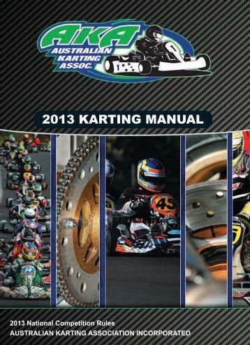 Go Kart manual book