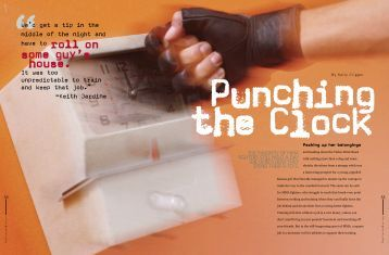 Punching the Clock - Kelly Crigger
