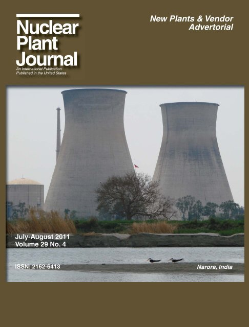 July-August 2011 - Digital Versions - Nuclear Plant Journal