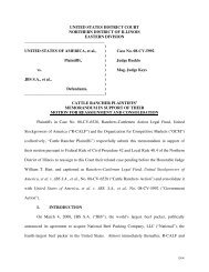 UNITED STATES DISTRICT COURT NORTHERN ... - R-Calf