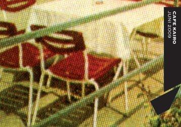 c A F E K A ir o ju n i 2 0 0 9 - Café Kairo