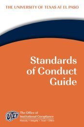 standards of Conduct Guide - Admin Portal Index > Home ...
