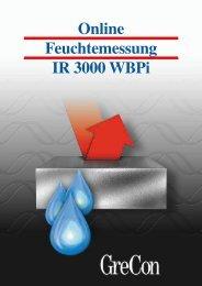 Online Feuchtemessung IR 3000 WBPi - GreCon