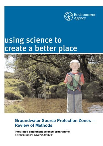 Groundwater Source Protection Zones – Review of Methods