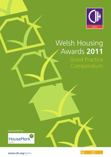 Welsh Housing Awards 2011 - Chartered Institute of Housing