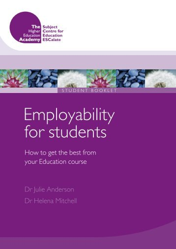 Employability for students - University of Cumbria