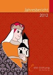 Jahresbericht 2012 - kfd-Stiftung St. Hedwig