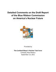 Download - Blue Ribbon Commission on America's Nuclear Future