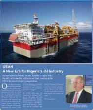 USAN A New Era for Nigeria's Oil Industry - TOTAL Nigeria