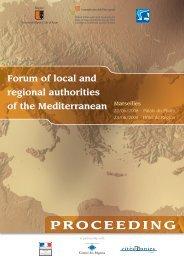 PROCEEDING - Commission Méditerranée de CGLU
