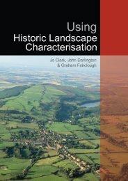 Using Historic Landscape Characterisation