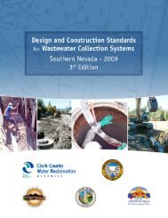Approved Design and Construction Standards - Clark County Water ...