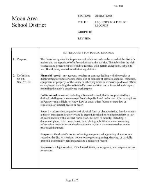 Public Records Request Letter - Letter BestKitchenView CO