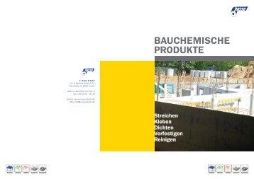BAUCHEMISCHE PRODUKTE