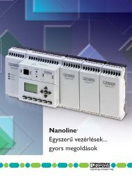 NanoLine vezérlőcsalád (PDF 1,07 MB) - PHOENIX CONTACT ...