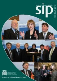 Science in Parliament Whitsun 2013 - Institute of Physics and ...