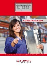 AktionskAtAlog 2012 - Fachbodenregale