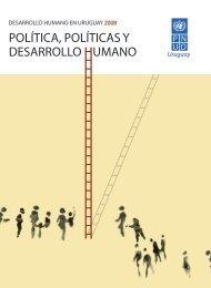 Desarrollo humano en Uruguay 2008 - PNUD
