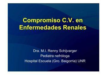 Compromiso C.V. en Enfermedades Renales