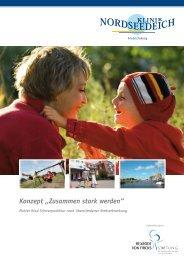"""Konzept """"Zusammen stark werden"""" - Klinik Nordseedeich"""