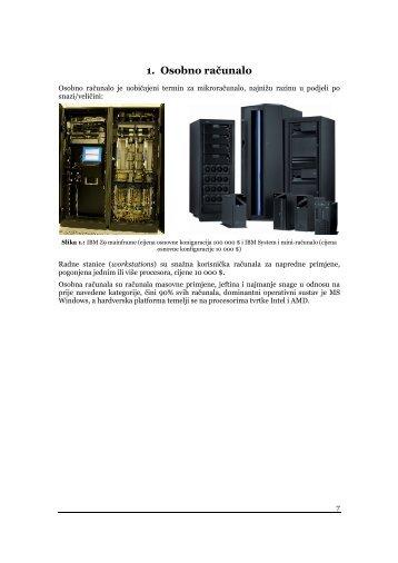 1. Osobno računalo - FESB