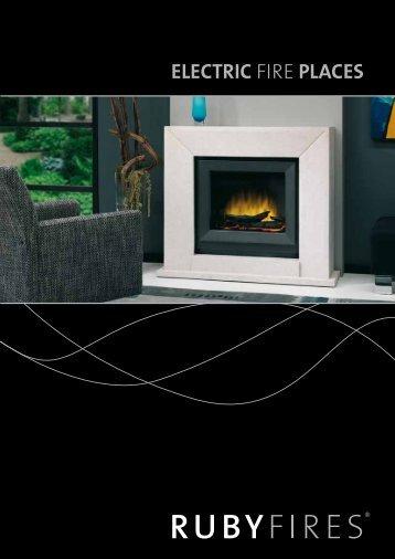 Brochure Rubyfires Electric Fire - UwKachel