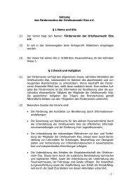 - 1 - Satzung des Fördervereins der Ortsfeuerwehr Elze e.V. ... - Jokin