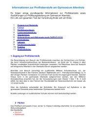 Physik - Gymnasium Altenholz