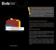 folleto de acreditacion web - Universidad Diego Portales