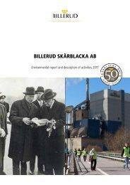 Skärblacka Mills - Billerud AB