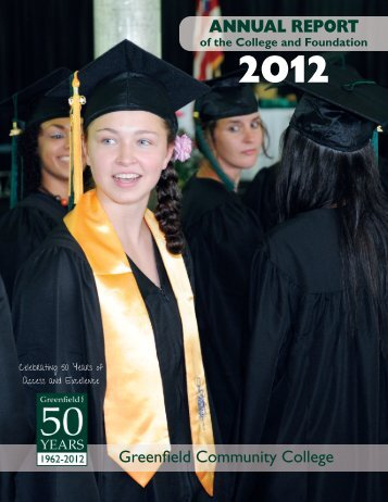 Download our 2012 Annual Report - Greenfield Community College