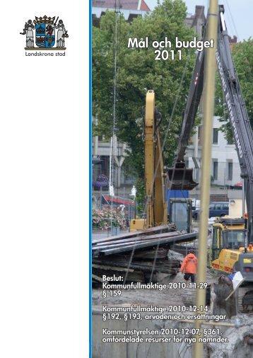 mal_budget_2011_dokumentet _4_.pdf - Landskrona kommun