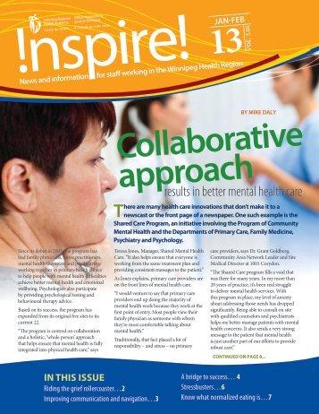 to read more - Winnipeg Regional Health Authority