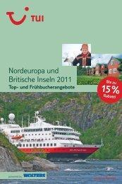 Nordeuropa und Britische Inseln 2011