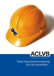 """""""Gratis hospitalisatieverzekering"""" voor élke bouwvakker … - Aclvb"""