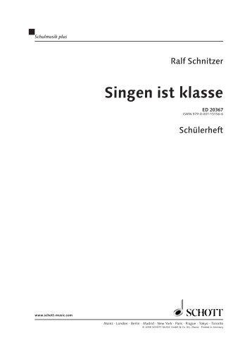 Beispielseiten (pdf, 705.8 KB) - Schott Music