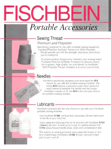 Accessories for Fischbein's hand held portable bag closers