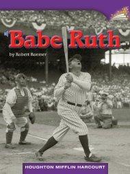 Lesson 5:Babe Ruth