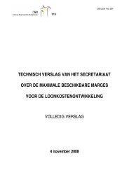 verslag - Centrale Raad voor het Bedrijfsleven