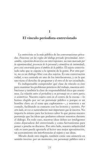 Libro La entrevista periodística, de Jorge Halperín - Colección educ.ar