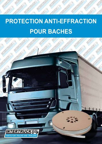 PROTECTION ANTI-EFFRACTION POUR BACHES - Intertruck