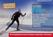 Nordic Fun - Winter 2012/2013 - SPORTUNION Salzburg