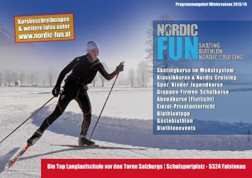Nordic Fun - Winter 2012/2013 - SPORTUNION Salzburg
