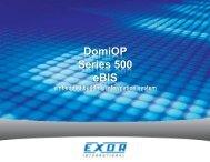 DomiOP eBIS500.pdf - Esco Drives & Automation